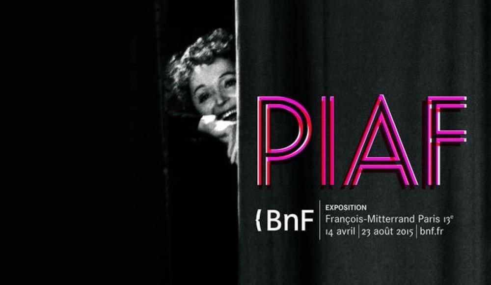 Piaf à la BNF