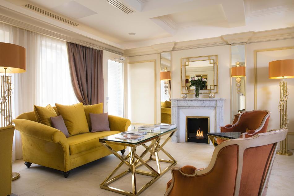 Hotel de Suède - lounge